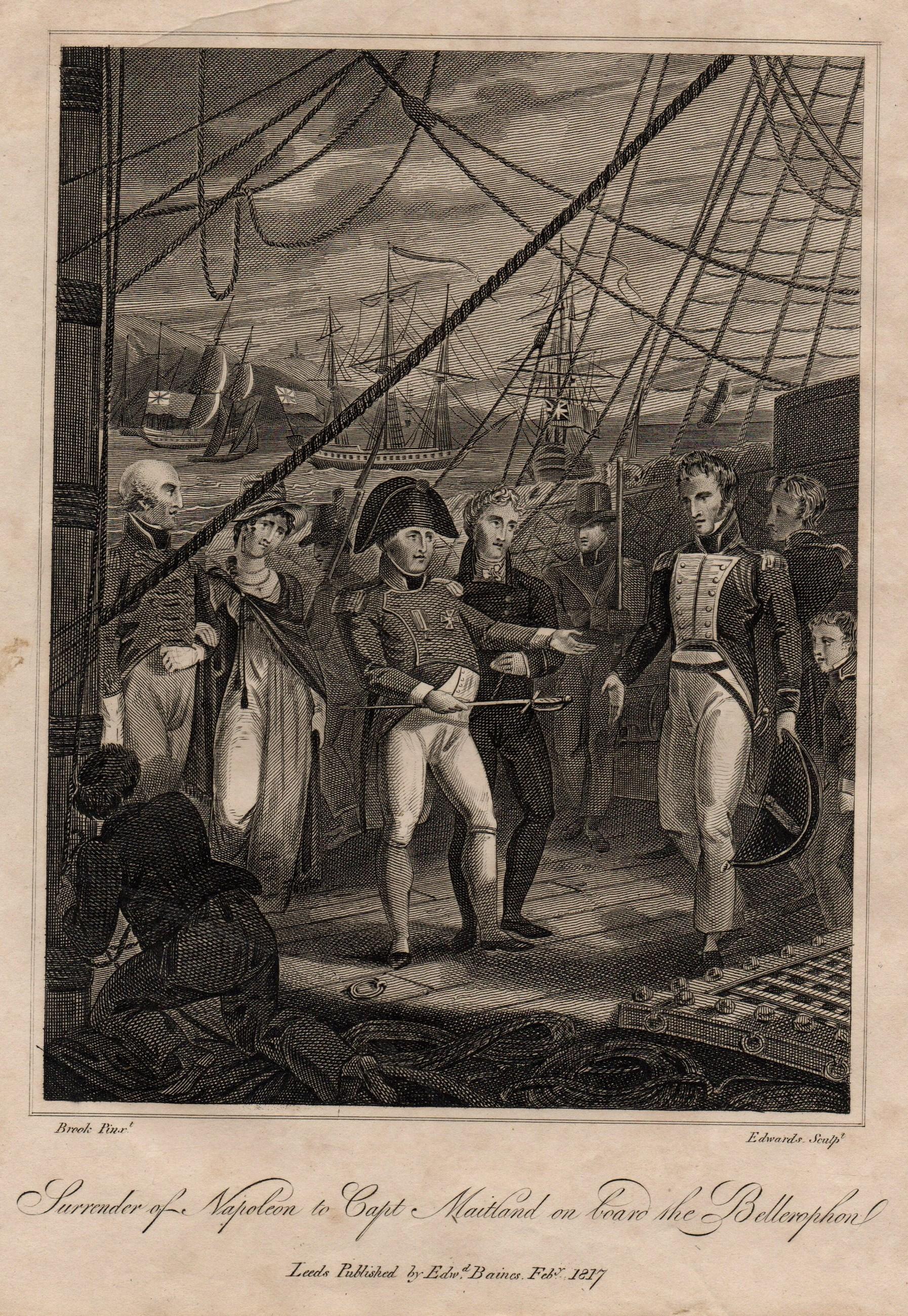 Napoleon surrenders on board HMS Bellerophon.jpg