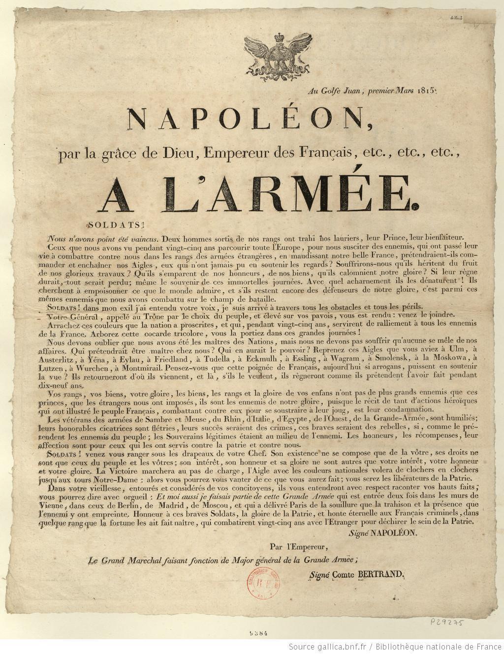 proclamation 1 March 1815.jpg